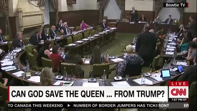 CNN Finds Humor in UK Parliament Insulting Trump to Downgrading Visit