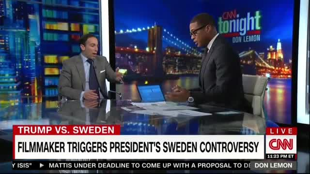 CNN's Lemon Argues Sweden Crime Increase Not Really an Increase