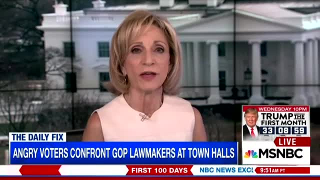 Andrea Mitchell Praises Lefty Protests, After Being Frightened by Tea Party