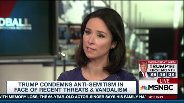 On MSNBC, USA Today's Przybyla Argues Anti-Semitism Is Now 'Mainstream' on the Right