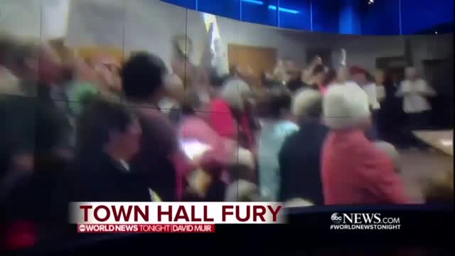 Nets Tout Liberal Town Hall Protests, Deny Outside Organization