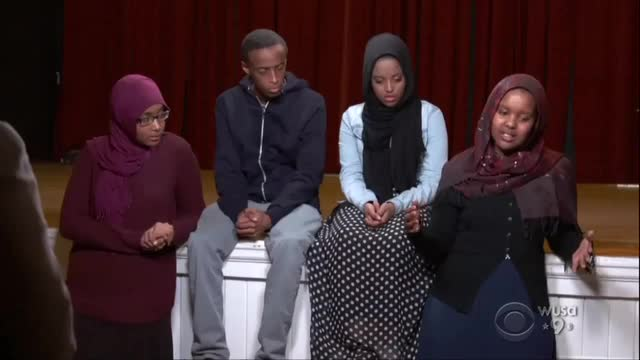 CBS Uses Teenage Refugees to Trash Trump for Temporary Travel Restrictions