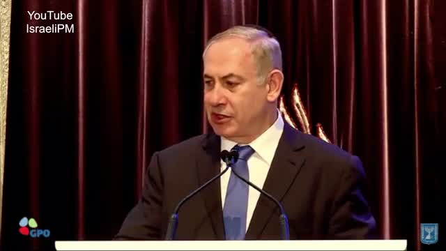 Netanyahu Foresees Israeli-Arab Alliance Against 'Barbarism'