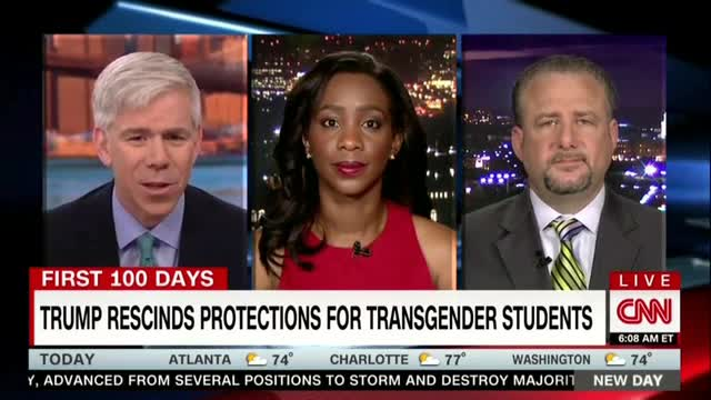 CNN Frets Repeal of Obama Transgender Bathroom Directive