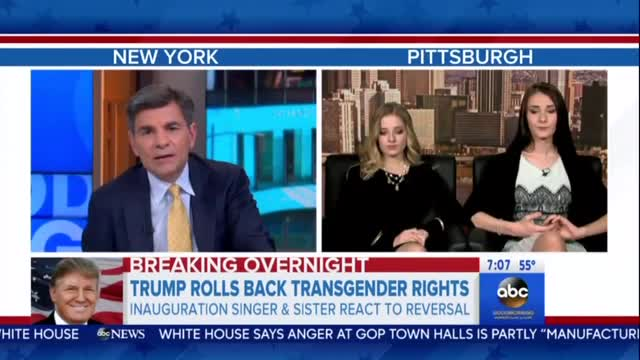 Stephanopoulos Tries to Get Transgender Teen to Bash Trump Over School Bathroom Rule Reversal