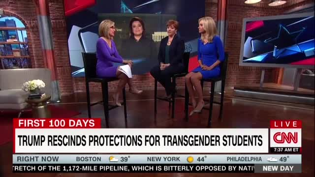CNN Panel Bullies Conservative for Supporting 'Cruel' School Bathroom 'Discrimination'