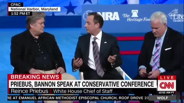 Bannon, Priebus Double Down on Knocking Media as 'Opposition Party'; It Will 'Get Worse' for Them