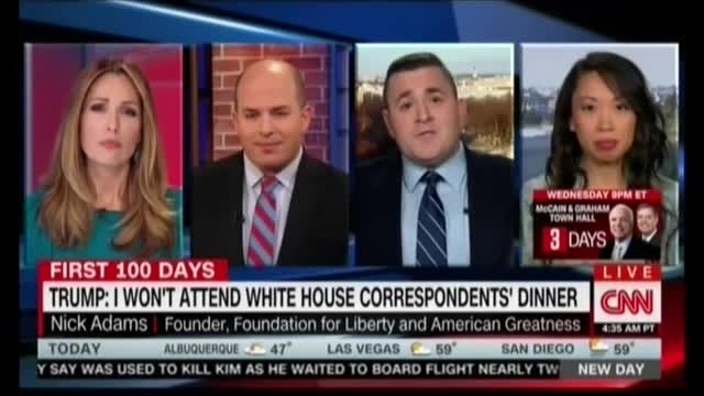 CNN Panelist: WHCD Is 'a Blight on the Republic,' Dem Party 'Worship Center'