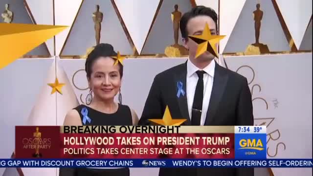 GMA Gushes Over Hollywood 'Taking On Trump' at Oscars