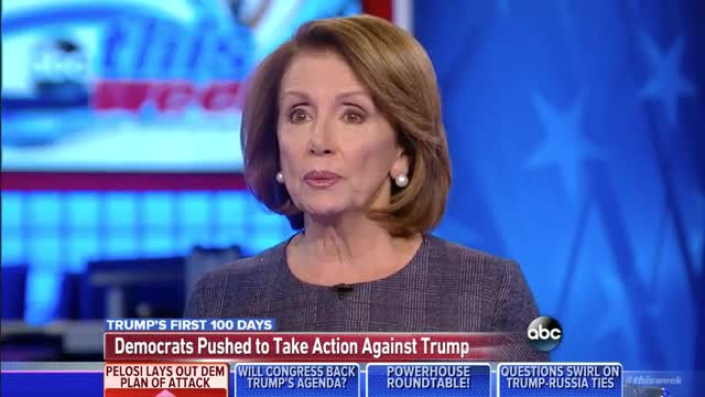 Pelosi: Trump 'Has No Jobs Bill'; 'They've Done Nothing'