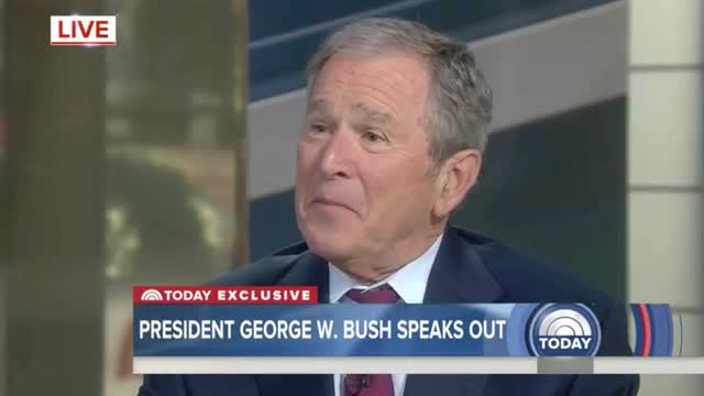 G.W. Bush: 'Hard to Unify the Country With the News Media Being So Split Up