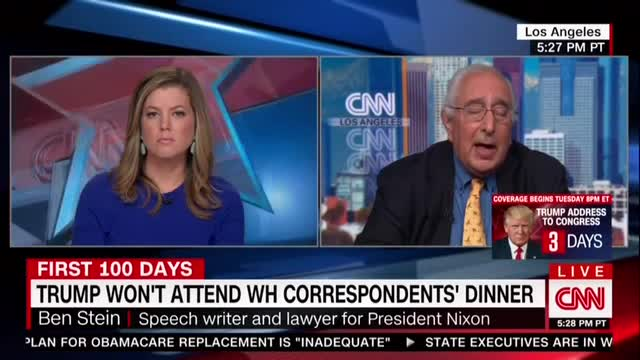 Ben Stein Slams CNN, NYT for 'Looking for a Scandal' from Trump 'Every Day'