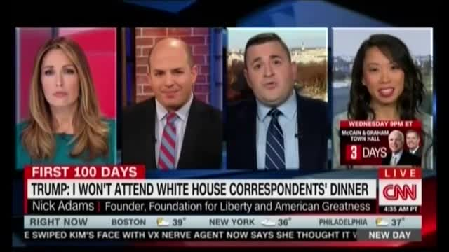 CNN Panelist: WHCD Is 'a Blight on the Republic,' Democratic Party 'Worship Center'