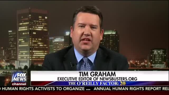 Tim Graham Discusses the MRC's Latest Study, Media Bias with FNC's Jesse Watters