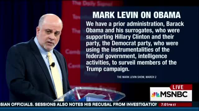 MSNBC's 'Hardball:' Matthews Mocks Levin, 'That's a Voice to Be Believed'