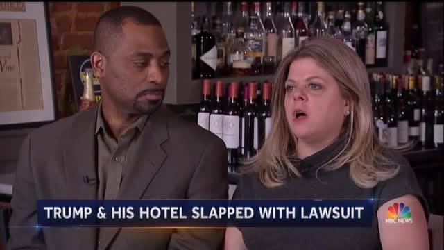 'NBC Nightly News' Highlights Noted Liberals Suing Trump Over DC Hotel