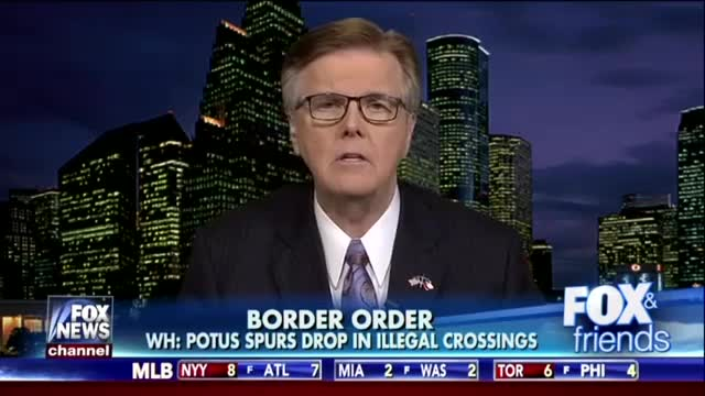 Texas Lt. Gov. Lays Down the Facts on the Costs of Illegal Immigration