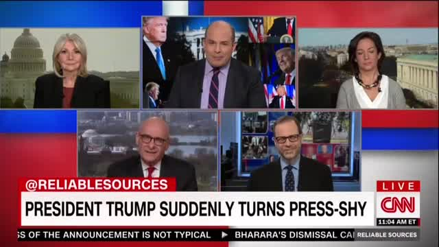 CNN Guest Shoots Down 'Hysterical' Media Whining Trump Silent with Press