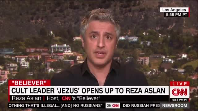 CNN's Aslan Tries to Blame Trump for Bomb Threats Against Jewish Centers