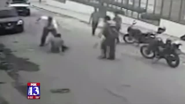 Missionary Fights Off Gunman