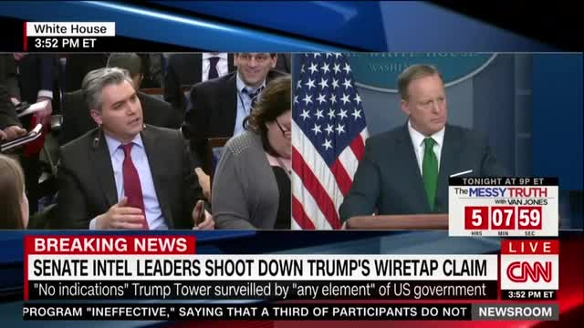 White House Press Secretary Feuds With ABC and CNN