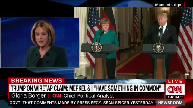 'Kudos to the German Journalists'; CNN Swoons Over Foreign Questions to Trump on Wiretaps