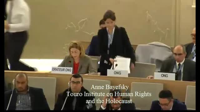 'Apartheid' is the Word of the Day at the UN Human Rights Council