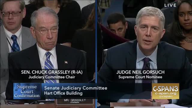 Gorsuch: Separation of Powers Is 'The Genius of the Constitution'