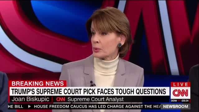 Giddy CNN Swoons Democrats Are Giving 'Testier' Gorsuch 'A Run for His Money'