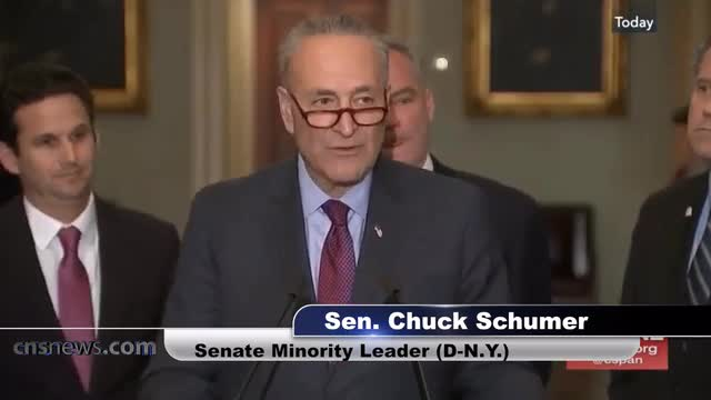 Schumer: No SCOTUS Appointment While There Is A Cloud Hanging Over Trump's Head