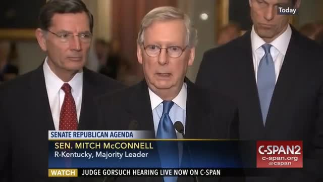 McConnell: 'If' the House Passes Repeal/Replace Bill, 'I'll Bring It Up'