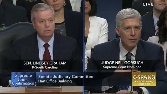 Sen. Graham on Gorsuch: 'I Want to Congratulate President Trump,' He 'Chose Wisely'