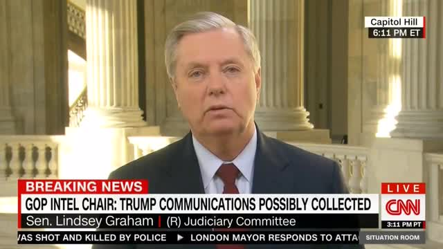 Graham: 'I Wonder If My Meetings Are Being Surveilled by the Intelligence Community'