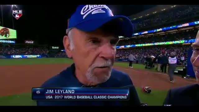 Jim Leyland Dedicates World Baseball Classic Victory to Troops