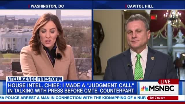 MSNBC Badgers GOP Rep With Dem Talking Points on Spying