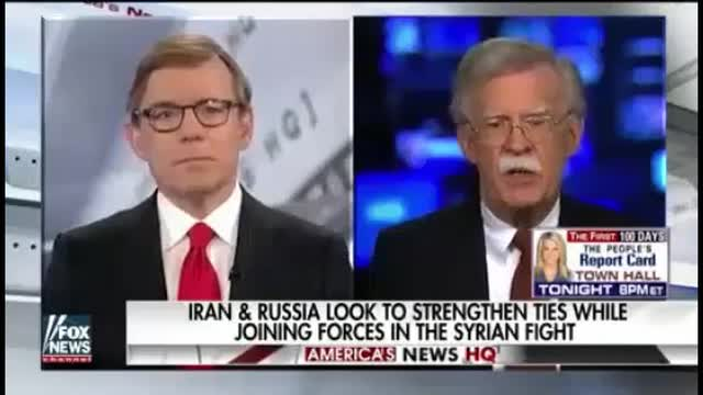 Bolton: Counter-Terror Cooperation With Russia 'Difficult if Not Impossible' Because of Russia-Iran Alliance