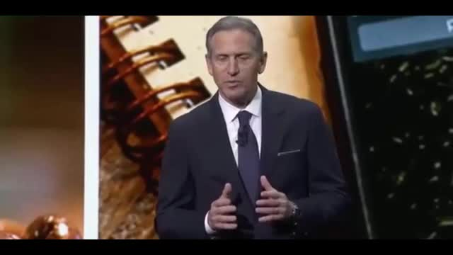 Starbucks Shareholder Stands up to Outgoing Liberal CEO