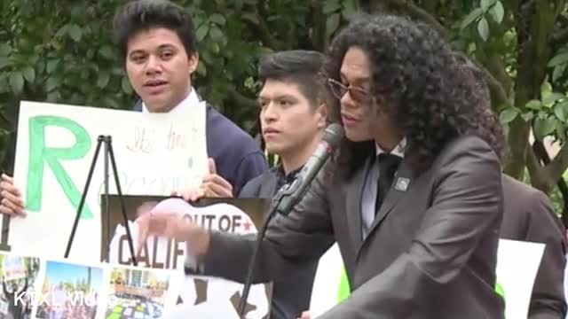 Students Protest Immigration Laws, College Costs