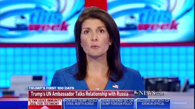 ABC's Wild Raddatz Disrespects, Harasses Ambassador Haley About Russia