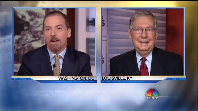 NBC's Chuck Todd Badgers McConnell About Giving Garland a Vote