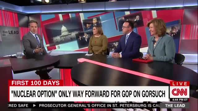 CNN's Tapper Claims GOP Responsible for Senate's Descent 'Into the Muck'