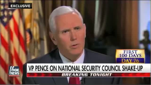 Pence: Bannon's Removal from National Security Council Part of 'Routine Evolution' of National Security Team