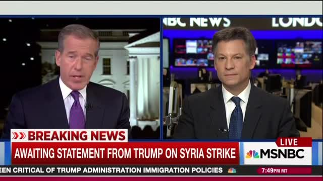 Brian Williams Gripes About Cost of Launching Missiles Into Syria; It 'Endangered' Americans!