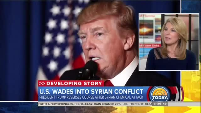 NBC Hopeful Trump Will Change Mind on 'Muslim Ban' After Syria Strike