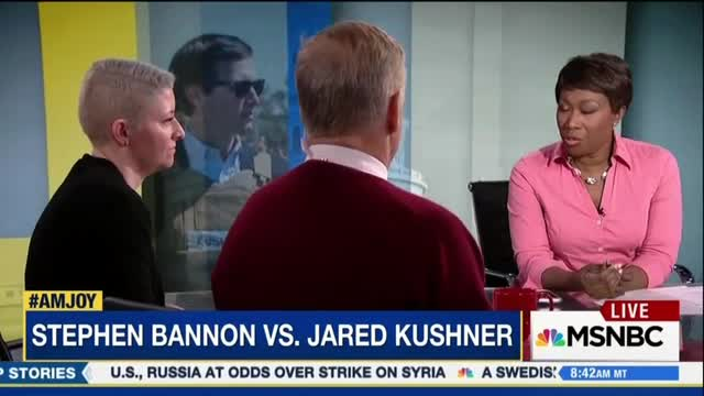 MSNBC Lets Guests Smear Bannon as 'Avowed Anti-Semite,' 'Hates Jews'