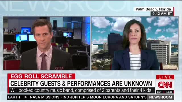 On Good Friday, CNN Actually Mocks Trump for ''Forgetting' About WH Easter Egg Roll