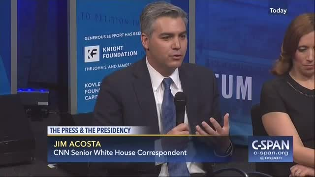 CNN's Acosta Calls Trump's Media Criticism Un-American, 'We Are Just Trying to Get At the Truth'