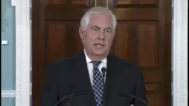 Tillerson on Iran Deal: 'Another Example of Buying Off a Power Who Has Nuclear Ambitions … Someone Has to Deal With it Later'