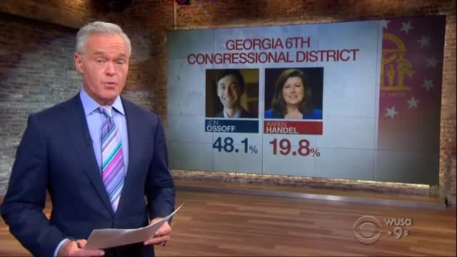 ABC, CBS Harping on Ossoff's Non-Win, 'First Scare at Ballot Box' for GOP
