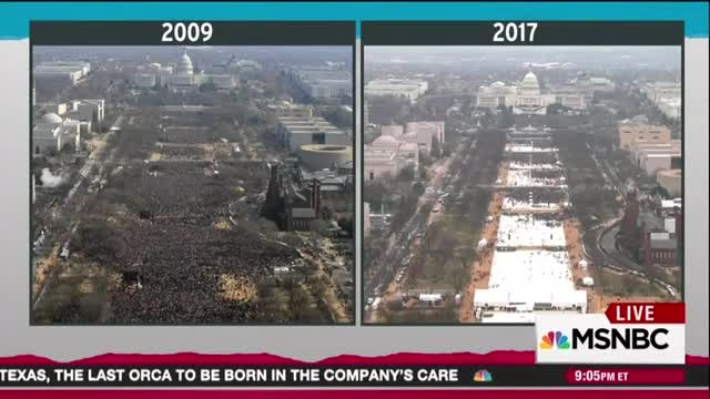Fake News: Rachel Maddow Invents Missing Trump Inauguration Funds